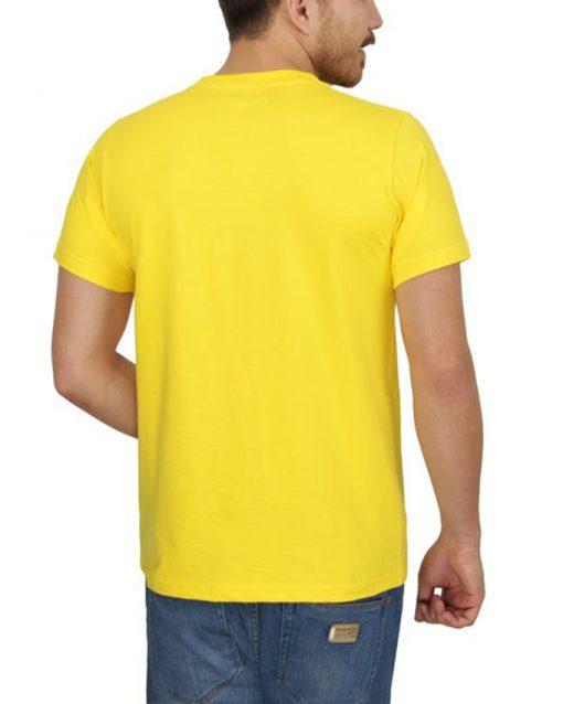 تیشرت زرد خام