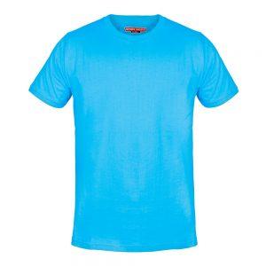 تیشرت آبی فیروزه ای