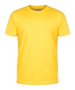 تیشرت زرد ساده