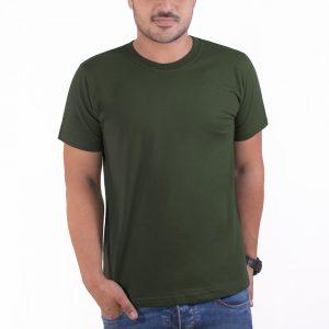 تیشرت سبز یشمی