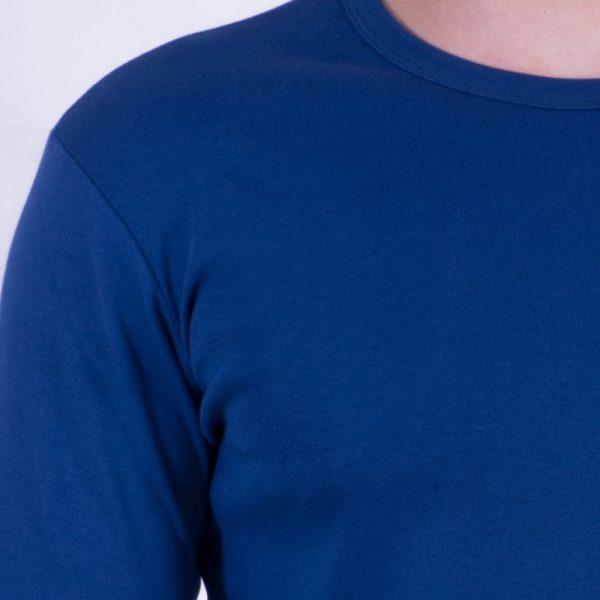 آستین بلند آبی