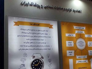 اتحادیه تولید و صادرات نساجی و پوشاک ایران