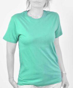 تیشرت دخترانه سبز فیروزه ای
