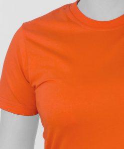 تیشرت نارنجی دخترانه