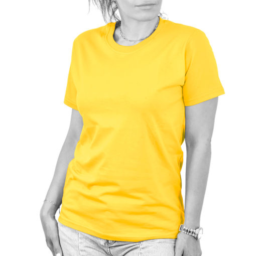 تیشرت دخترانه زرد