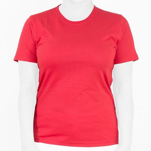 تیشرت قرمز زنانه