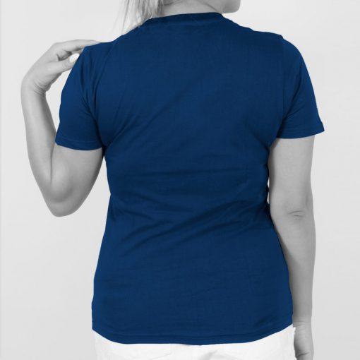تیشرت دخترانه آبی