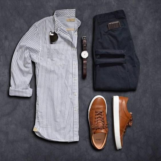 راهنمای ست کردن پیراهن مردانه