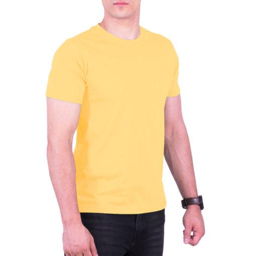 تیشرت زرد روشن