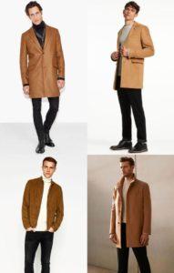 لباس مردانه رنگ آجری