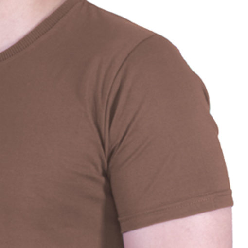 تیشرت مردانه قهوه ای