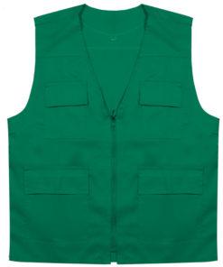 جلیقه چهارجیب سبز